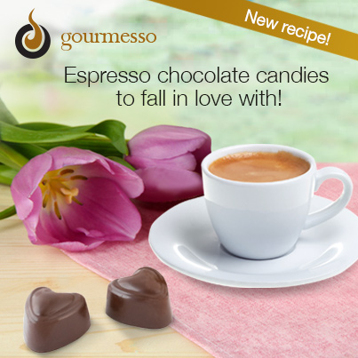 Use Nespresso Compatible Coffee Capsules to make espresso chocolates